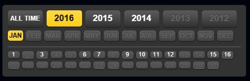 January running calendar