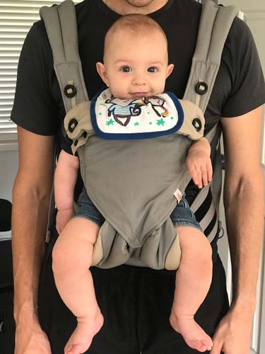 Baby in ergo 360 carrier